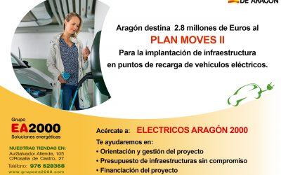 Vehículo eléctrico – plan Move ll – Ayudas para la movilidad eficiente y sostenible