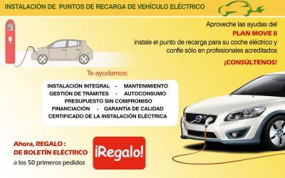 Instalación de puntos de recarga de vehículo eléctrico
